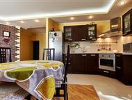 Собственник! Всвязи с переездом, продаю квартиру! Собственник! Всвязи с переездом, продаю квартиру! Вся мебель и бытовая техника. 1 этаж: кухня-гостин, Краснодар - Элитная недвижимость