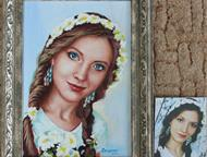 Портрет по фото Пишу портреты по фото на заказ, картины на холсте и на бумаге, и продаю готовые картины. Картина - это уникальный подарок на любой пра, Краснодар - Разные услуги