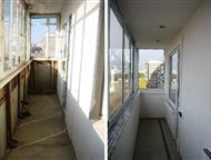 Пермь: Остекление балконов недорого Остекление балкона и лоджии (пластиковые, алюминиевые рамы)Вынос конструкций, демонтаж бесплатно. Перенос, увеличение, мо